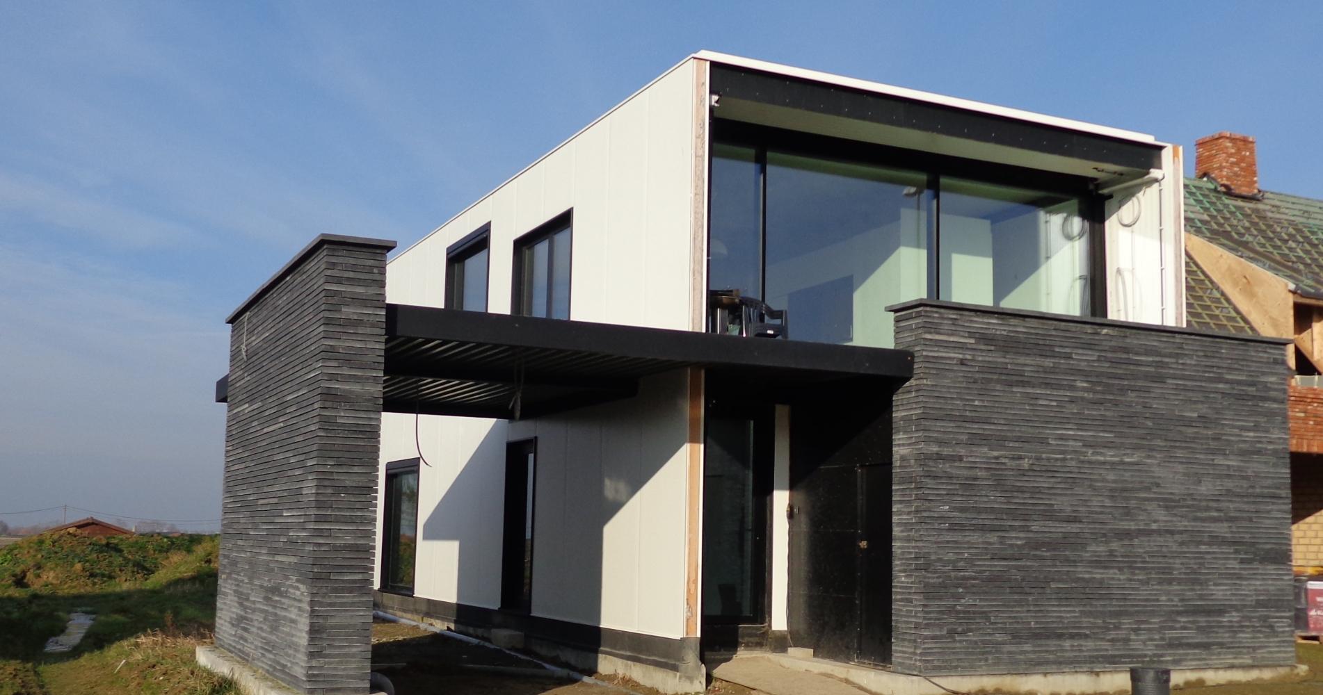 Woning in staal met warm gevoel for Staalbouw woningen